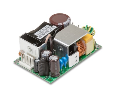 Helt stille og kompakt 60W-strømforsyning til medicoelektronikken