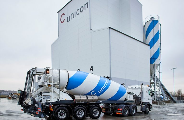 Unicon klar med CO2-reduceret beton på hylderne
