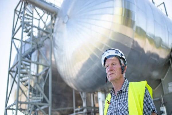 Linde Gas – Danmarks største CO2-terminal står klar