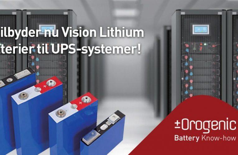 Orogenic – Mangler du batterier til et UPS-system af topkvalitet?