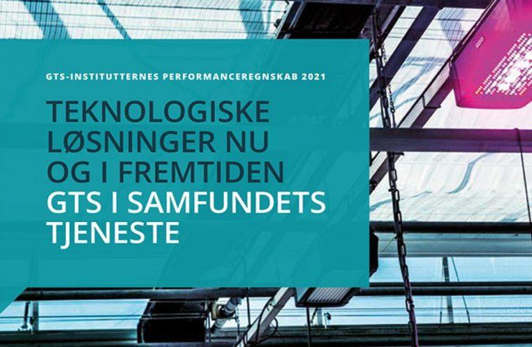 DBI – PERFORMANCEREGNSKAB 2021: SMV'ER BRUGER GTS-INSTITUTTER MERE END FØR