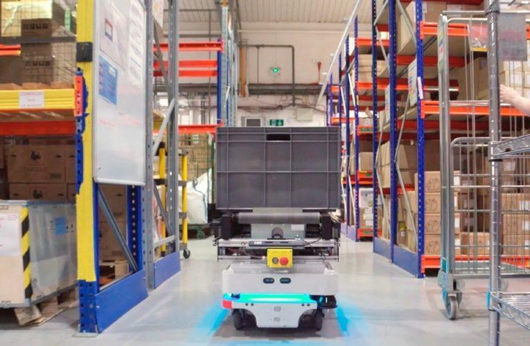 Mobile robotter overtager lagerlogistikken
